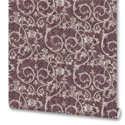 Обои на флизелиновой основе Вензеля 1.06х10 м цвет коричневый Им 159016-36