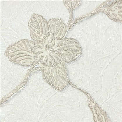 Обои на флизелиновой основе Victoria Stenova Orchid 998782 1.06х10 м цвет бежевый