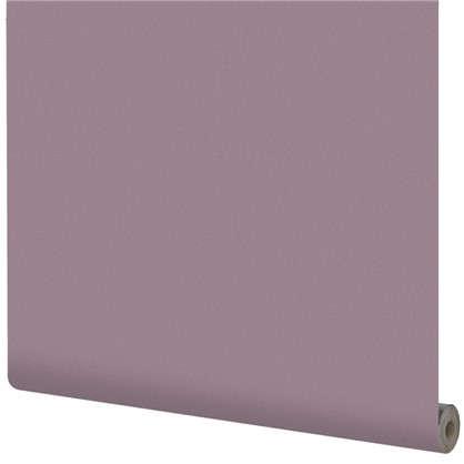 Обои на флизелиновой основке Inspire 1.06х10 м сталь цвет фиолетовый