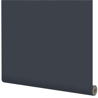 Обои на флизелиновой основке Inspire 1.06х10 м сталь цвет графит