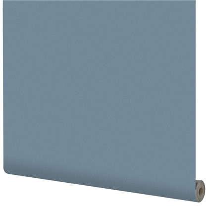 Обои на флизелиновой основке Inspire 1.06х10 м сталь цвет индиго