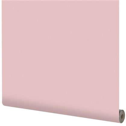 Обои на флизелиновой основке Inspire 1.06х10 м сталь цвет розовый