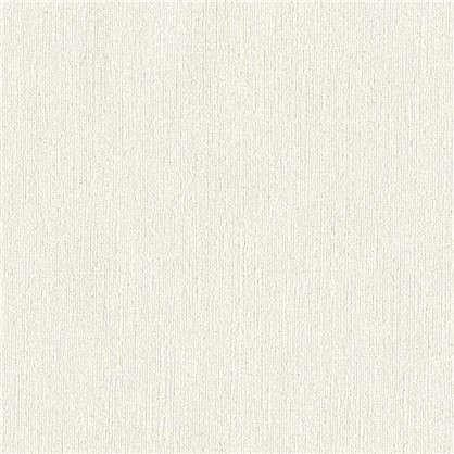 Обои Однотонные АС 356468 цвет белый 0.53х10 м