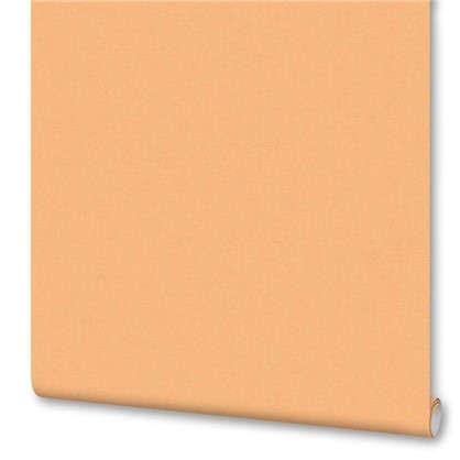Обои Однотонные флизелиновые цвет оранжевый 0.53х10 м