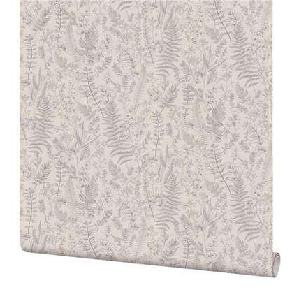 Обои PL71117-14 флизелиновые цвет серый 1.06х10 м
