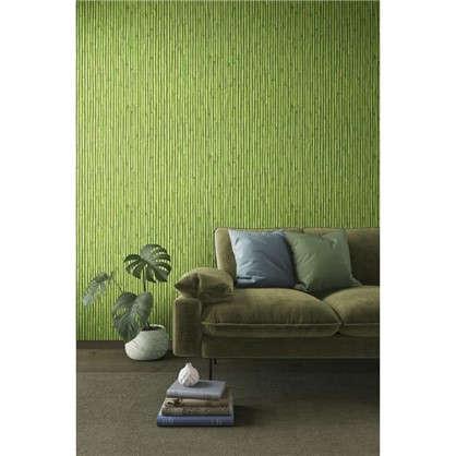 Обои PL71150-77 флизелиновые цвет зеленый 1.06х10 м