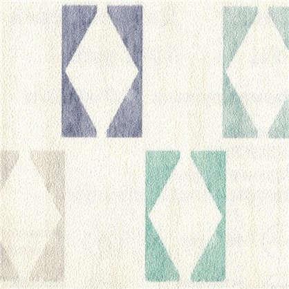 Обои Плитка АС 351181 цвет синий 0.53х10 м