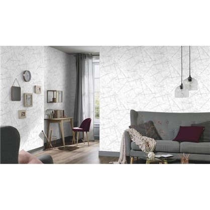 Обои Рисунок ЭР3709-4 на флизелиновой основе цвет белый 1.06х10 м