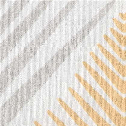 Обои Ромб флизелиновые цвет оранжевый 0.53х10 м