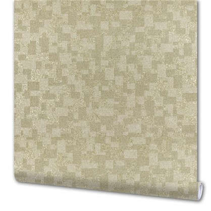 Обои Слюда 10054-02 виниловые на флизелиновой основе цвет экрю 1.06x10 м