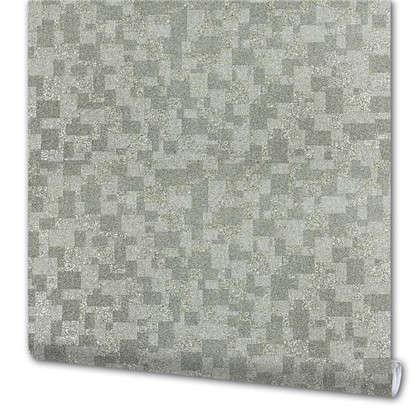Обои Слюда 10054-03 виниловые на флизелиновой основе цвет серый 1.06x10 м