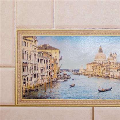 Обои Венеция виниловые на бумажной основе цвет бежевый 0.53x10 м