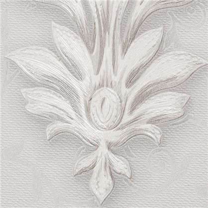 Обои Вензель 71061-14 флизелиновые цвет серый 1.06х10 м