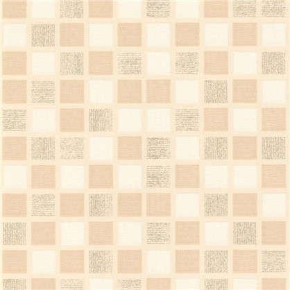 Обои виниловые 0.53х10 м мозаика цвет бежевый Па 1357-21
