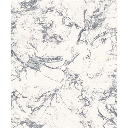 Обои виниловые Мрамор 0.53х10 м цвет серый Па 1360-14