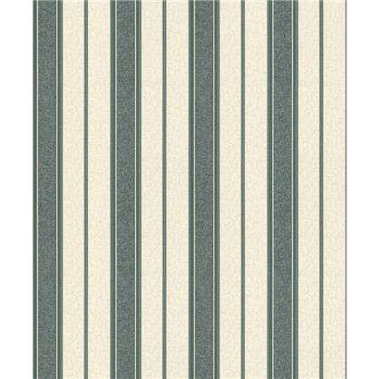 Обои виниловые Полоса 0.53х10 м цвет зеленый Па 1369-17