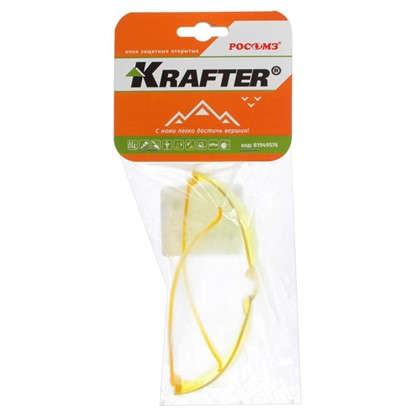 Очки защитные желтые Krafter