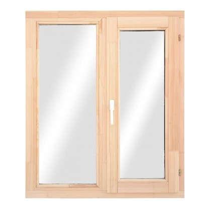 Окно деревянное 116x97 см однокамерный стеклопакет