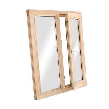 Купить Окно деревянное 116x97 см однокамерный стеклопакет дешевле