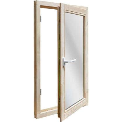 Окно деревянное 96x58 см однокамерный стеклопакет