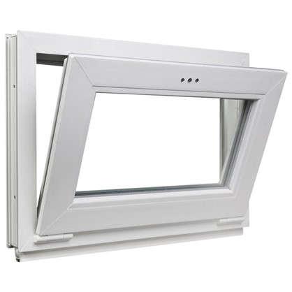 Окно-фрамуга ПВХ одностворчатое 50х70 см откидное цена