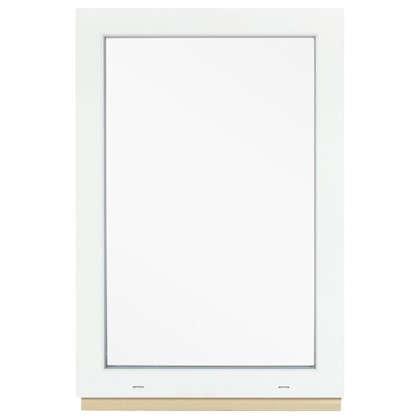 Окно ПВХ 90x60 см глухое