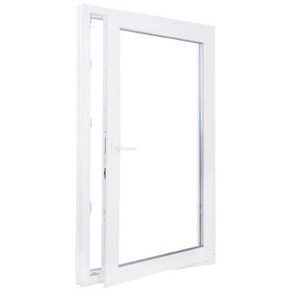 Окно ПВХ одностворчатое 100х60 см поворотное правое