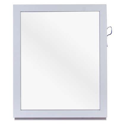 Окно ПВХ одностворчатое 100х80 см глухое цена