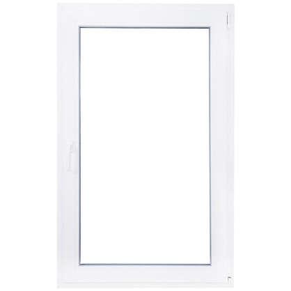 Купить Окно ПВХ одностворчатое 120х100 см поворотное правое дешевле