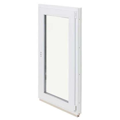 Купить Окно ПВХ одностворчатое 120х60 см поворотно-откидное правое дешевле