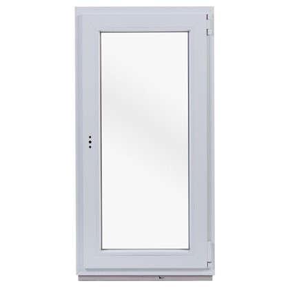 Окно ПВХ одностворчатое 120х60 см поворотное правое цена