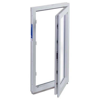 Купить Окно ПВХ одностворчатое 120х60 см поворотное правое дешевле