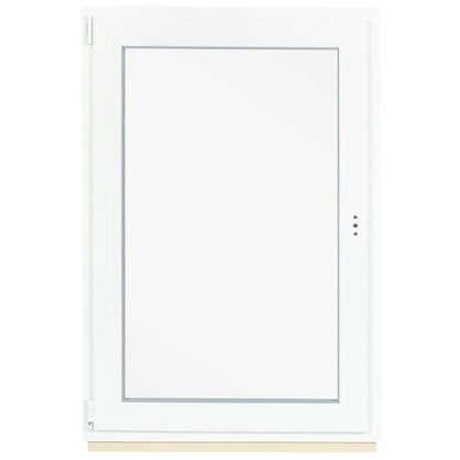 Купить Окно ПВХ одностворчатое 120x80 см поворотно-откидное левое дешевле