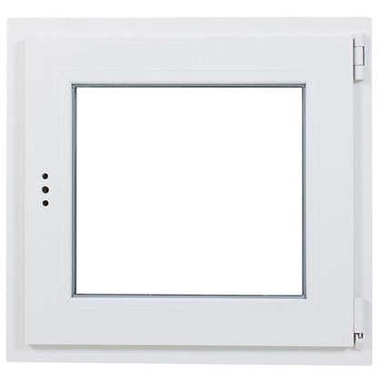 Купить Окно ПВХ одностворчатое 60х60 см поворотно-откидное правое дешевле