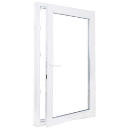 Купить Окно ПВХ одностворчатое 90х60 см поворотно-откидное правое дешевле