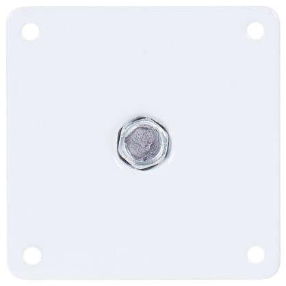 Опора круглая 150х50 мм цвет белый