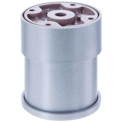 Купить Опора круглая 60х60 мм цвет хром дешевле