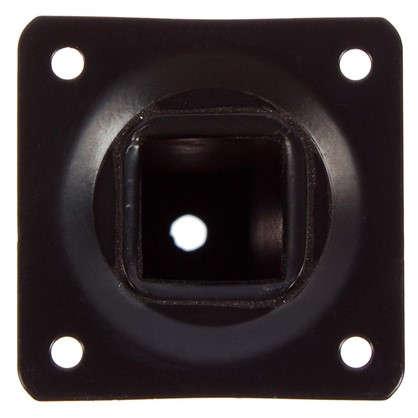 Опора квадратная 150х25х25 мм цвет черный