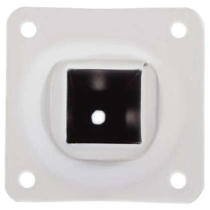 Опора квадратная 25х25х200 мм цвет белый