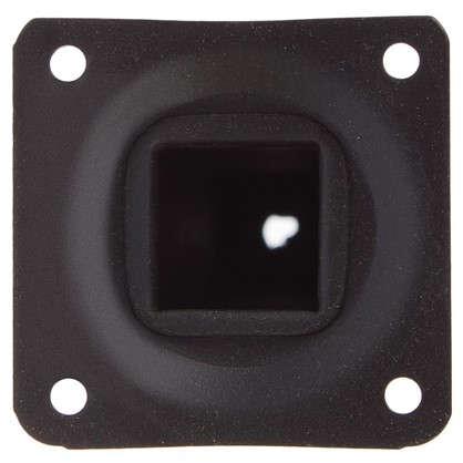 Опора квадратная 25х25х200 мм цвет черный