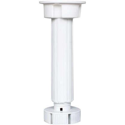 Купить Опора пластик Lemax 150 мм цвет белый 4 шт. дешевле