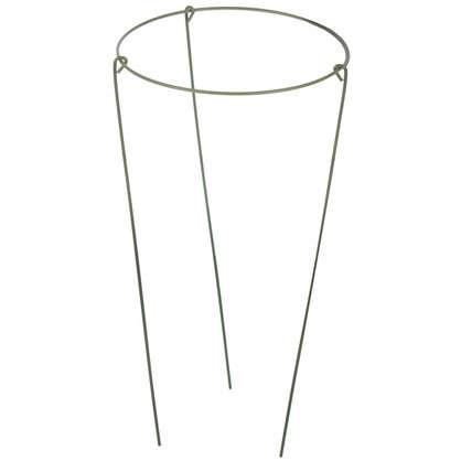Опора садовая круглая 1 кольцо h30 см d15 см металл