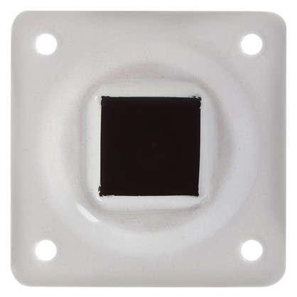 Опора сталь белая квадратная высота 150 мм 25х25 мм