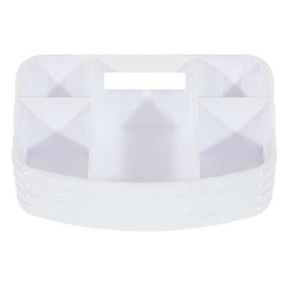 Купить Органайзер для ванной комнаты цвет белый дешевле