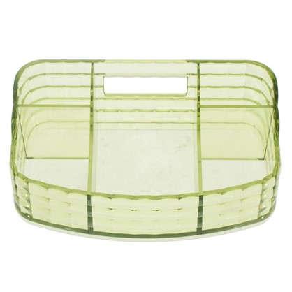 Органайзер для ванной комнаты цвет зеленый