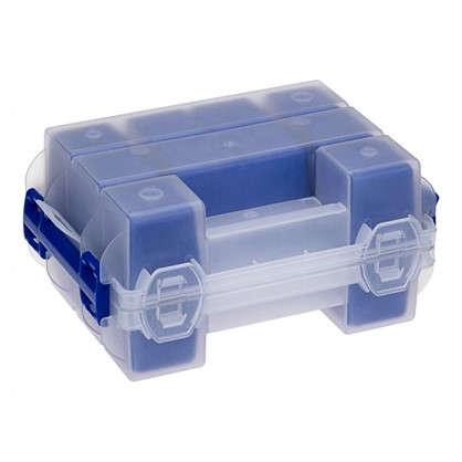 Купить Органайзер наборный Твин пластик цвет синий дешевле