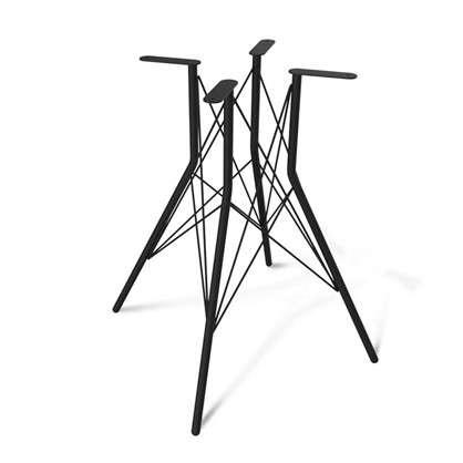 Основание для стола Sheffilton SHT-TU2-1 цвет чёрный муар