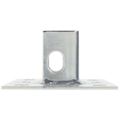 Купить Основание потолочной стойки под профиль 100x100x3 мм сталь дешевле
