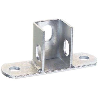 Купить Основание потолочной стойки под профиль 120x40x4 мм сталь дешевле