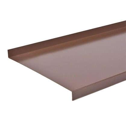 Купить Отлив 200 мм цвет коричневый дешевле